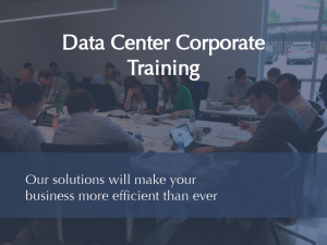 Data Center Corporate Training Graphic