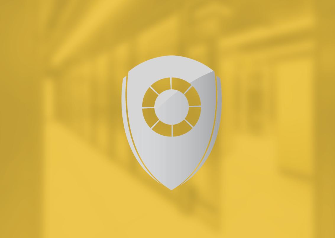 Buyer shield, yellow