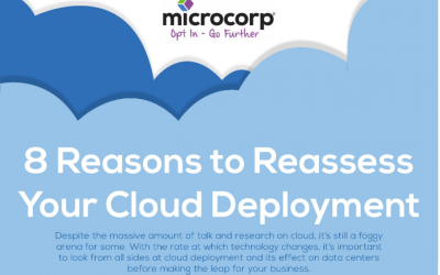 8 Reasons to Reassess Your Cloud Deployment