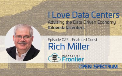 Founder & Editor of DataCenterKnowledge.com and DataCenterFrontier.com – Episode 023 – Rich Miller
